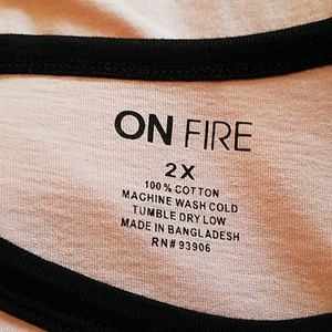 On Fire Tops - 5 for $25🤩 ON FIRE Blessed 1 T